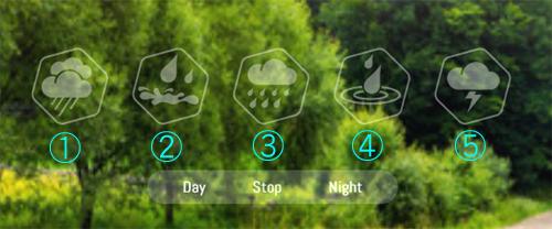 rainbowhuntホーム画面