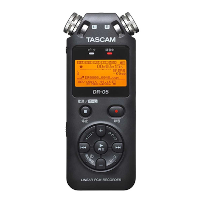 タスカムDR-05